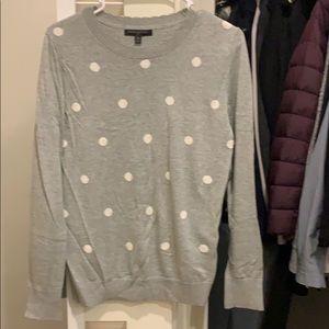 Polka dot sweater